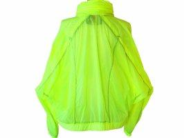 Giacca a vento giallo neon Nylon