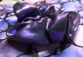 Nastro per capelli blu-viola scuro