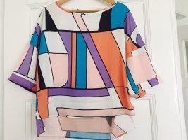 Stefanel Camisa holgada multicolor