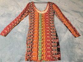 Volcom Longsleeve Dress neon orange-orange