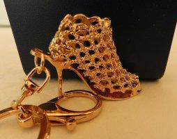 """Fashion Jewelry Schlüsselanhänger """"Stieletto""""- Gold - NEU"""