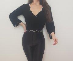 Fashion Nova Black Schwarz Oberteil Pullover Sweater Elegant Sexy Schick S