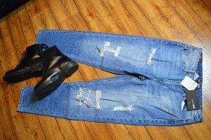 Fashion Nova Boyfriend Jeans Gr. 38