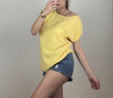 ZAIDA Top batik jaune primevère-jaune