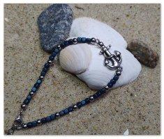 Fashion Steel Armband im Maritimen Style Anker Anhänger Modeschmuck