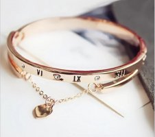 Bracelet de bras doré