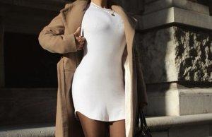 Fashionnova Kleid - weiß