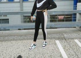 Fashionnova Leggings white-black