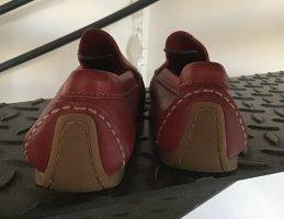 FAST NEU - Nur 1 x getragen - Mokassins/Slipper von GARBIELE FIRENZE - Nubuk Leder
