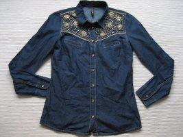 fb sister jeanshemd bluse neu gr. s 36