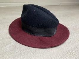 Forever 21 Felt Hat black-bordeaux