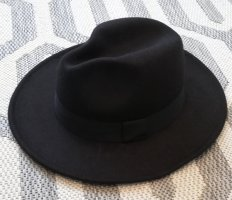 NA-KD Felt Hat black