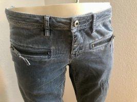 edc by Esprit Corduroy Trousers light grey-grey cotton