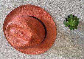 Chapeau panama orange