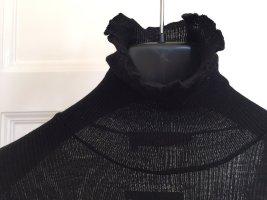 Cotélac Turtleneck Sweater black wool