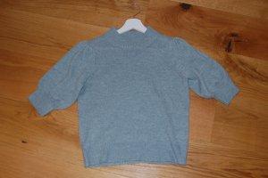 Jaqueline de Yong Camicia maglia verde-grigio-blu pallido Tessuto misto