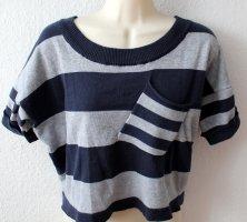 Feinstrick T-Shirt gestreift