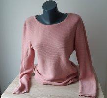 Montego Fine Knit Jumper rose-gold-coloured