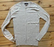 Mango Fine Knit Jumper cream-oatmeal