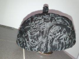Unbekannte Marke Sombrero de piel negro