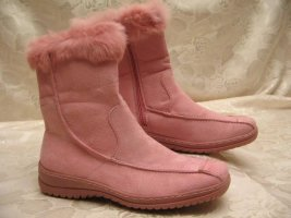 Fell Mukluk Vintage Rosa Winter Stiefel 37 Boots Fellrand