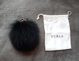 Fellanhänger Pon Pon Tasche Bubble Keyring Onyx Schwarz Furla