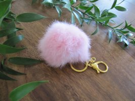 Key Chain gold-colored-light pink