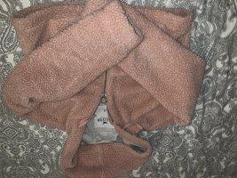 Hollister Futrzana kurtka nude-różowy