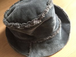 Bucket Hat dark grey-grey