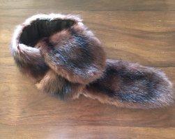 Écharpe ronde brun