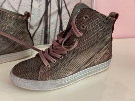 FELMINI Sneakers ~ 2 x getragen ~ dezent metallischer Look ~ Gr. 39