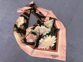 Fendi 100%silk Seide Seidentuch Schal Damentuch Tuch