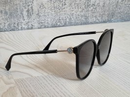 Fendi Angular Shaped Sunglasses black