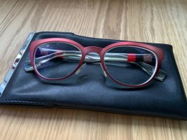 Fendi Butterfly Glasses red