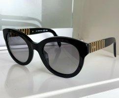 Fendi Butterfly bril zwart-donkergeel