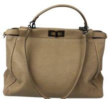 Fendi Peekaboo Kult Tasche beige sehr gut