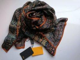 Fendi Zijden sjaal veelkleurig Zijde