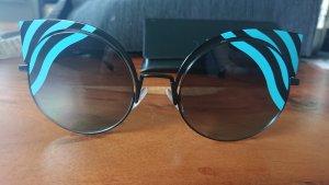 Fendi Gafas negro-azul claro