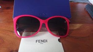 Fendi Bril zwart-rood