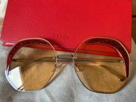 Fendi Round Sunglasses red-yellow