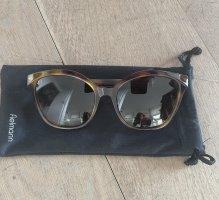Fendi Okulary w stylu panto cognac-brązowy