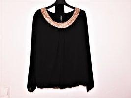 Festliche Bluse mit Schal - nur noch 18 Euro