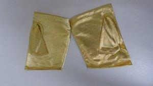 festliche Fausthandschuhe, metallic