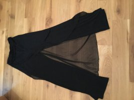 Pantalón estilo Harem negro Viscosa