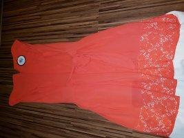 Festliches Kleid Apricot NEU