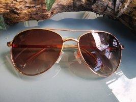 *Festpreis* Sonnenbrille, Gold, Braun