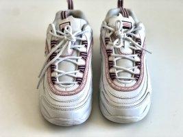 Fila Sneakers met hak wit-roze