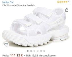 Fila Sandal neue weiß