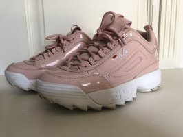 Fila Sneaker rosa Lack