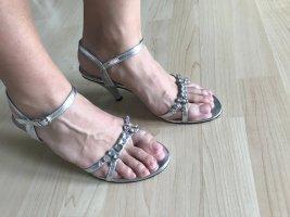 Andrea Conti Sandalo con cinturino argento